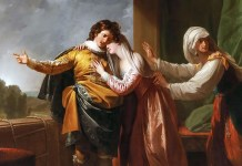 Rome and Juliet. Benjamin West