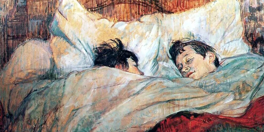 Le lit. Henri de Toulouse-Lautrec