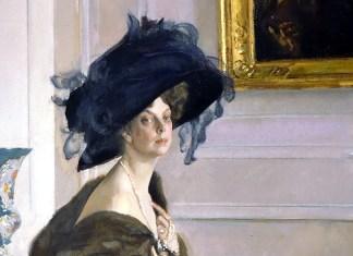 Portrait of Princess Olga Orlova. Valentin Serov