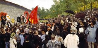 Commemorazione della Comune di Parigi, Il'ja Efimovic Repin