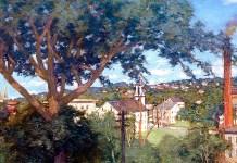 The Factory Village, Julian Alden Weir (1897)