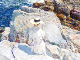 The South Ledges, Appledore. Frederick Childe Hassam