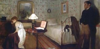 Interior (The Rape), Edgar Degas (1869)