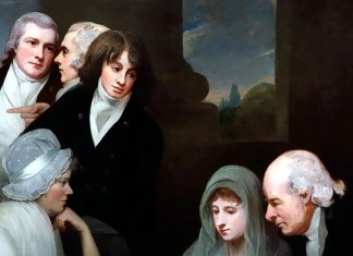 Adam Walker and his family, George Romney (1801)