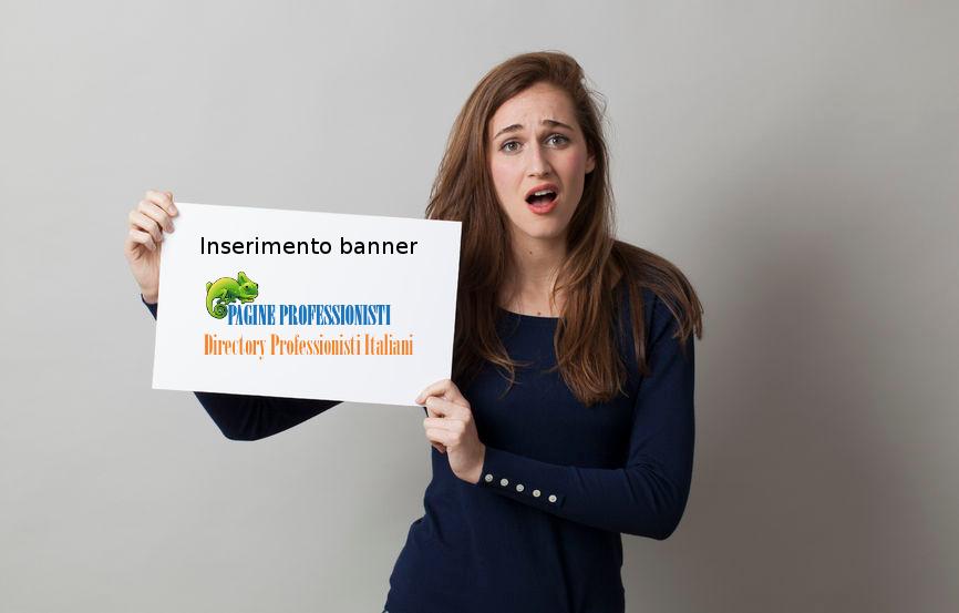 Inserimento banner