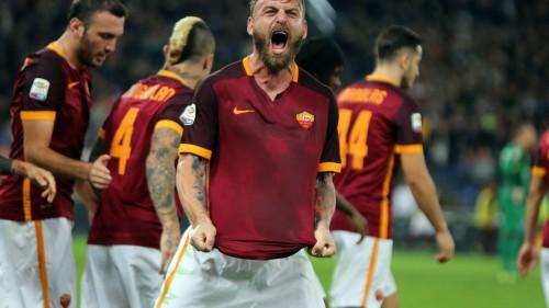 roma-empoli-derossi gol esultanza88
