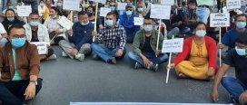 बन्द रहेको काँकडभिट्टा सीमा नाका खुलाउन सरकारसमक्ष व्यवसायीको माग