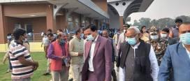जनकपुर विमानस्थलको नयाँ टर्मिनल भवनको उद्घाटन