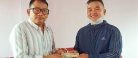 पत्रकार विजय खम्बु उपचार कोष स्थापना गरी अभियान थालियो