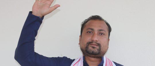 नेपाली कांग्रेस पथरीशनिश्चरे नगर सचिवमा सन्तोष कटुवालको उमेद्वारी