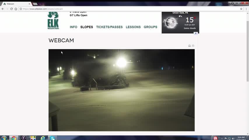 Elk Mountain Opens 5 am