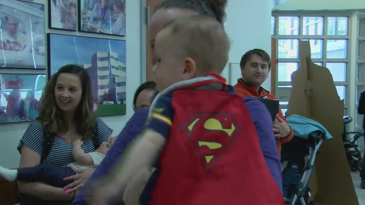 NICU Doctors reunite with their heroes