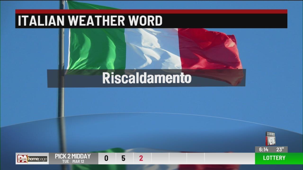 Italian Weather Word Wednesday