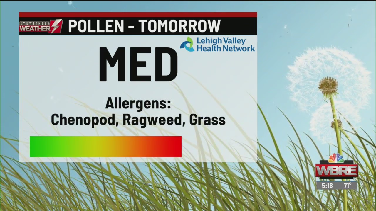 Allergy Alert: September 5, 2019