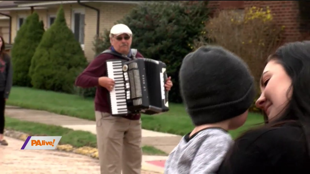 PAlive! Accordion Player Lifts Spirits April 8, 2020