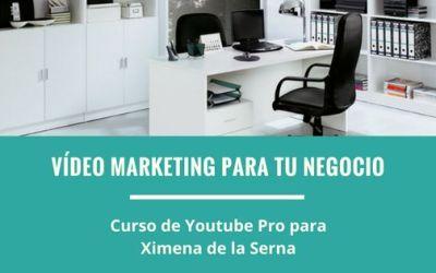 Vídeo marketing para crecer tu negocio | #BecaYouTubePro2017