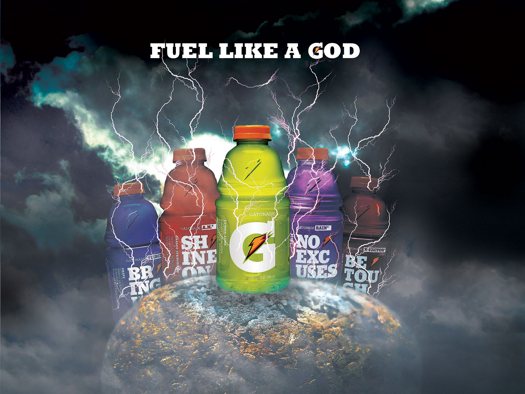 Gatorade National Commercial Paid Modeling Jobs