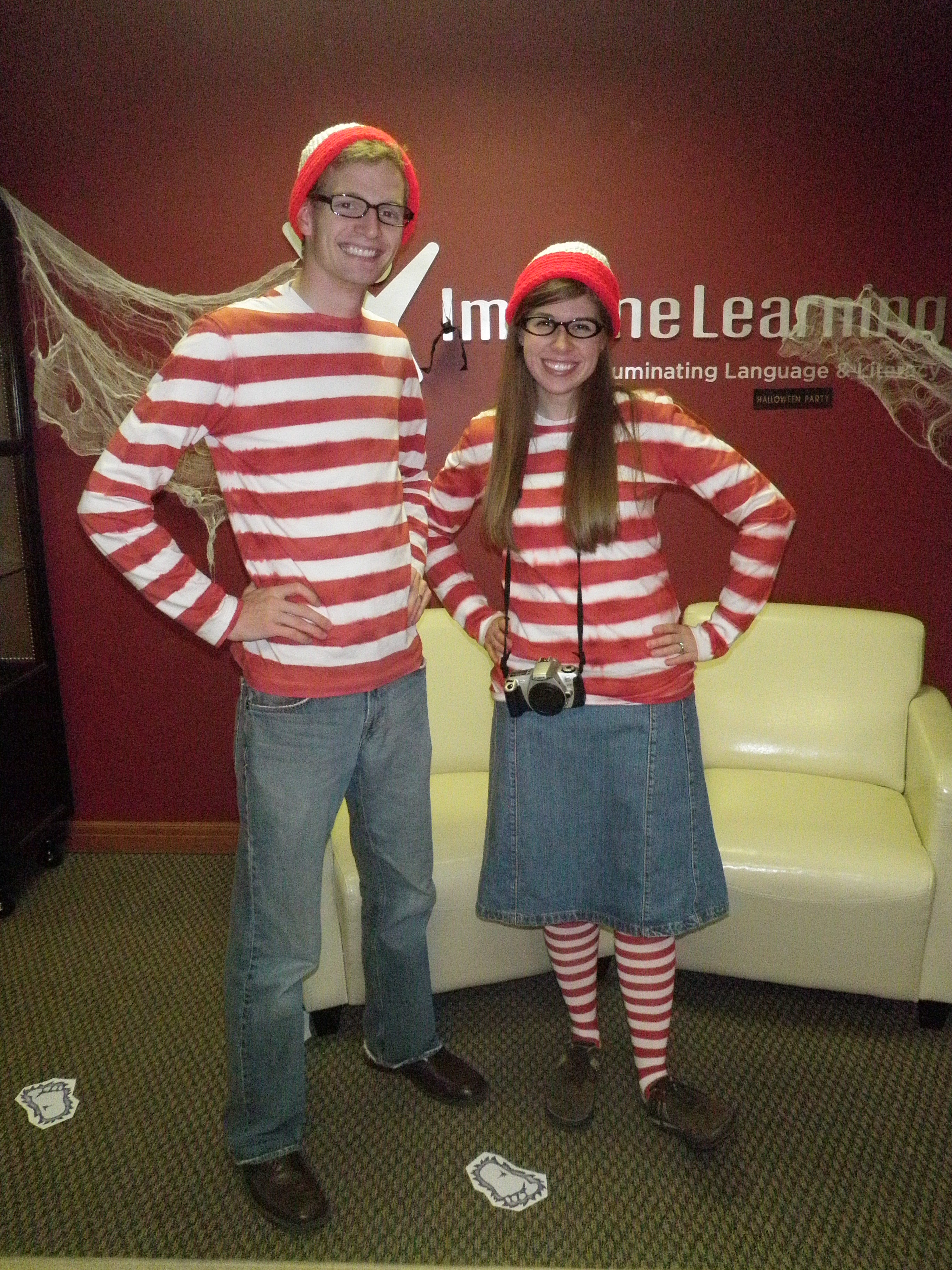 My work had a Halloween/food drive/flu shot party that we went to and it was a lot of fun. People liked our costumes and we got some funny comments like ...  sc 1 st  Lyman Family Living & December | 2010 | Lyman Family Living