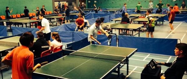Terrific Tournament for Table Tennis Teams