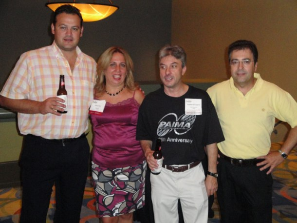 members at party