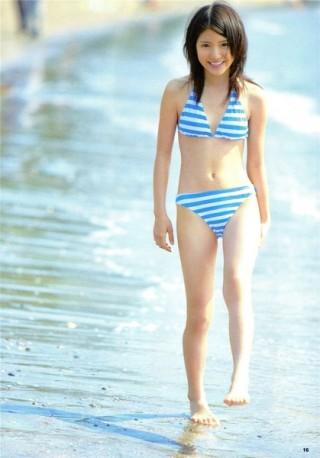 川島海荷水着エロお宝画像