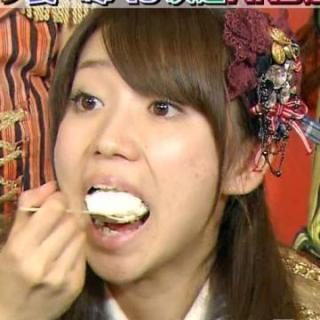 大島優子のエロいフェラ顔お宝画像