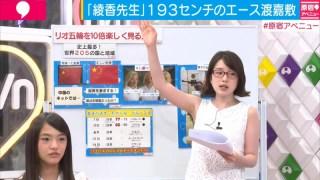 弘中綾香アナのエロいムチムチボディ―