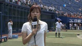 本田朋子アナ!ジャイアンツナインの視線を釘付けにした美乳おっぱいのエロお宝画像th3