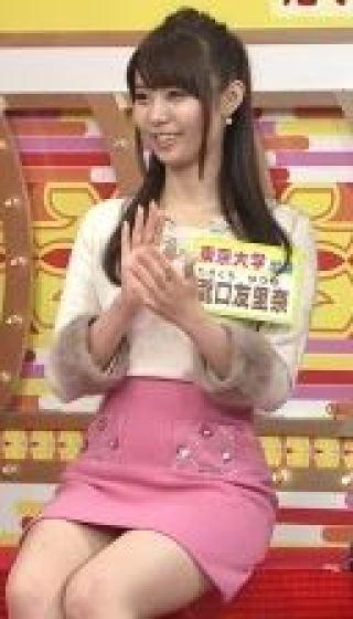 瀧口友里奈チラリ太もも放送事故エロお宝画像ty4