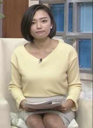 阿部優貴子パンチラ放送事故エロお宝画像