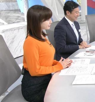 角谷暁子 巨乳デスク乗せ乳・横乳エロお宝画像