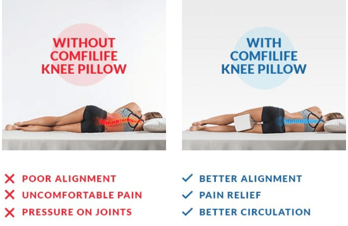 pillows for knee pain online