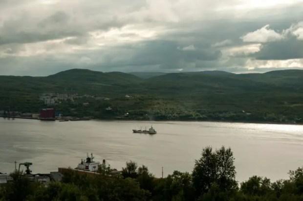 Murmansk fiordo