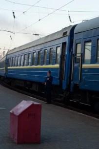 Una provodnitsa a Lviv, 6am