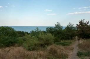 Parco pubblico che conduce al mare, Odessa