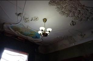 Il soffitto del salotto