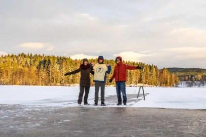 Tre painderoutiani sul Sognsvann