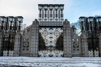Cancello Vigelandspark Oslo