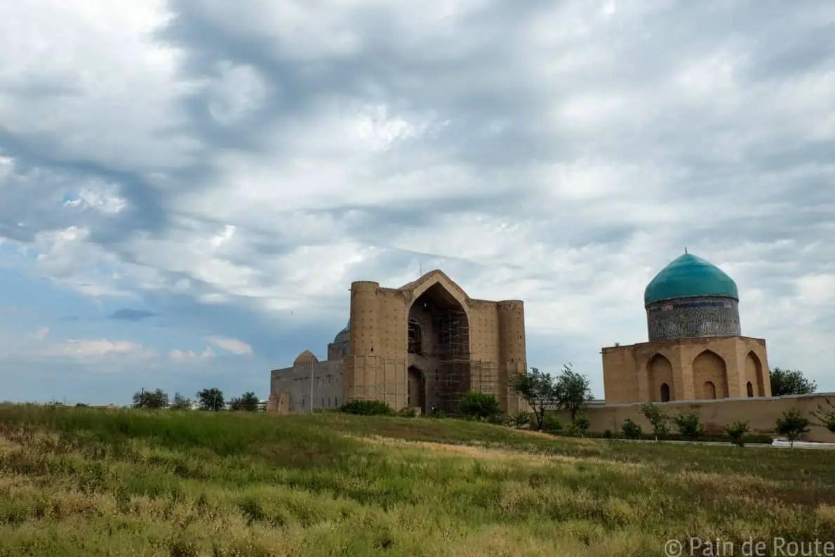 Il mausoleo di Turkistan