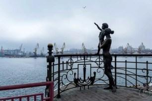 Sul porto di Odessa