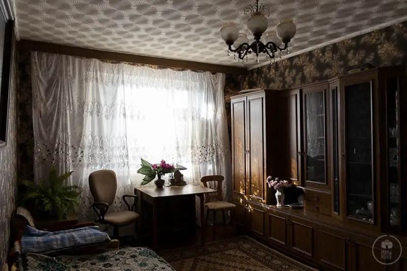 Un appartamento anni '70, Rybnitsa