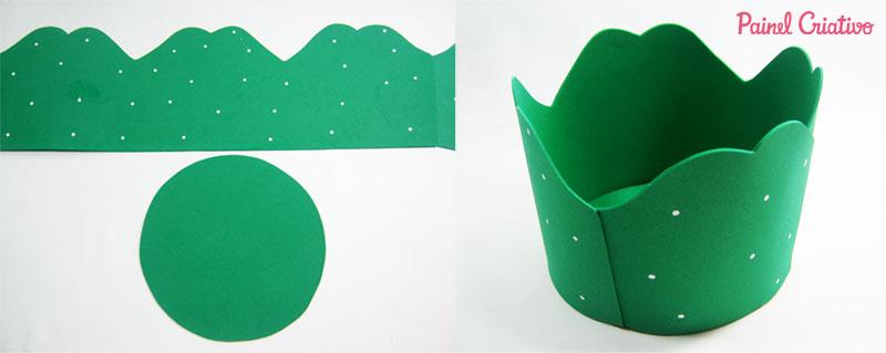 como fazer porta panetone eva presentar lembrancinha natal (2)