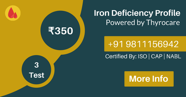 Iron Deficiency Profile