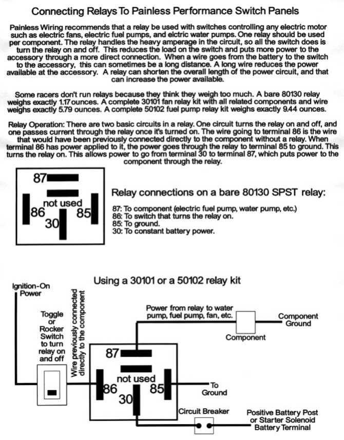 30 bosch relay wiring diagram we use a or  3 wire 2 circuit
