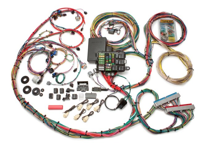 gm fuel injection wiring harness  3 phase 4 wire meter base
