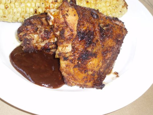 Grilled Chicken wit All South Barbecue Rub