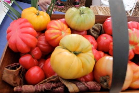 Heirloom Tomatoes at Kendall Jackson