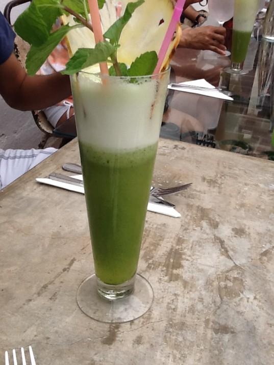 Cocktail at El Del Frente- Havana, Cuba