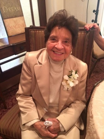 Carmen Morial at her 100th Birthday Celebration