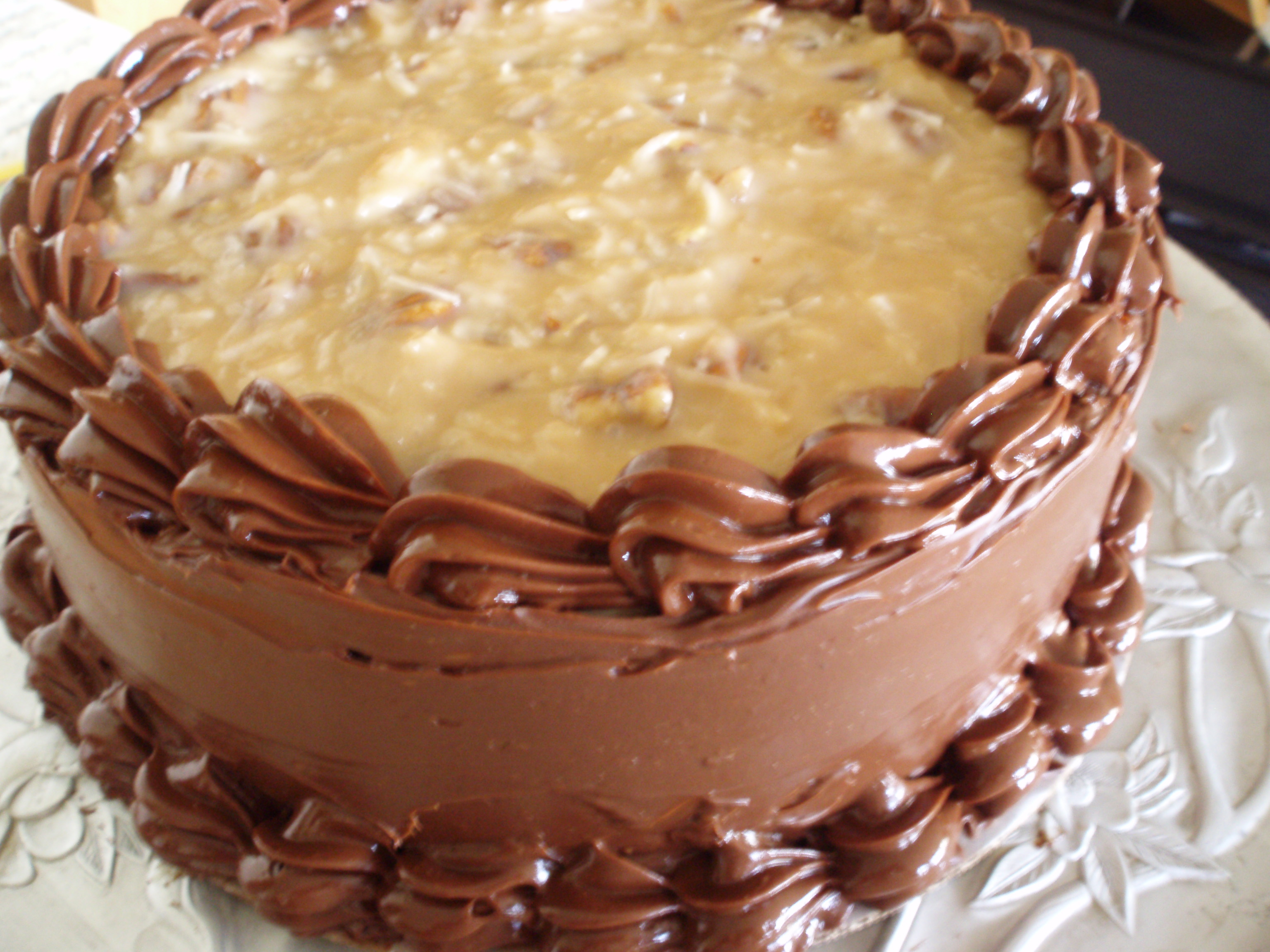 A Special Cake for a Special Day-German Chocolate with Milk ...